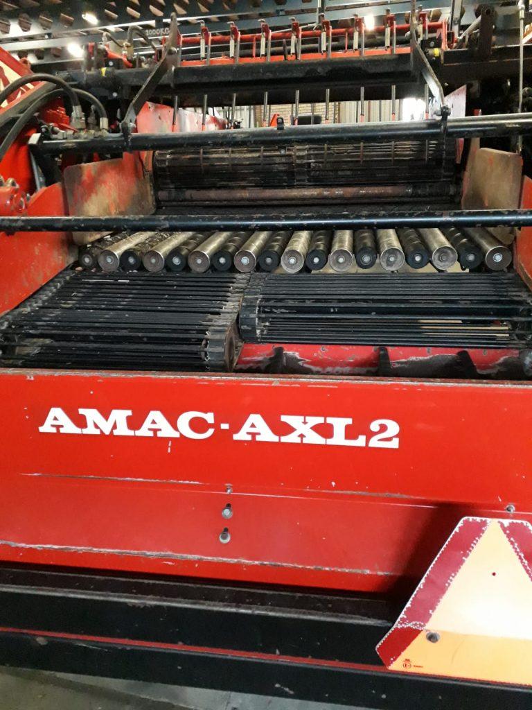 Drie AMAC axiaalreinigers te koop