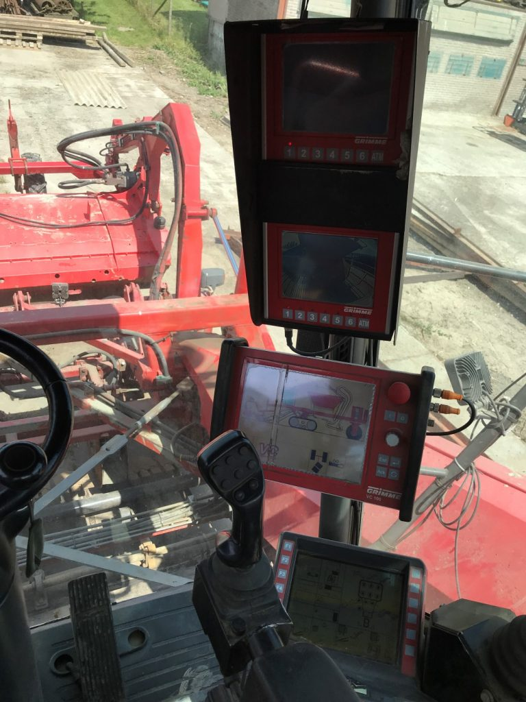 Grimme Tectron 415 uit 2008 monitor