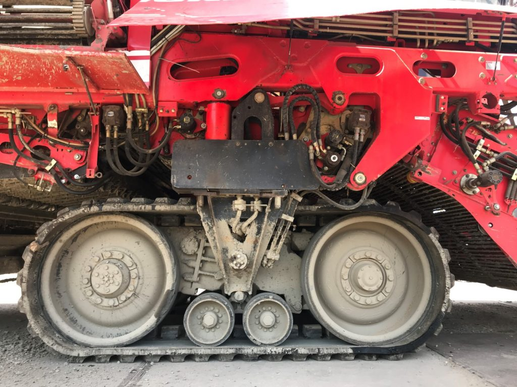 Grimme Tectron 415 uit 2008 rups