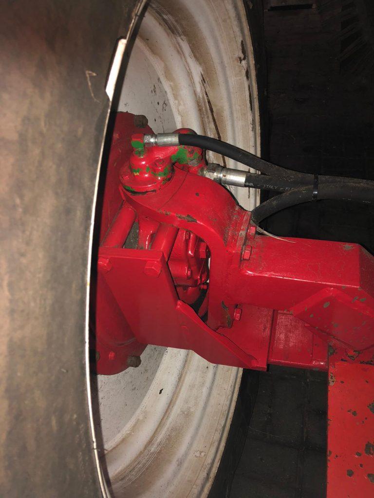DeWulf RDS 2005 aangedreven wiel